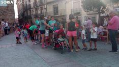 Imágenes de la Carrera Popular 'Fermín Cacho' en Ágreda. /SN