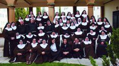 La comunidad de Clarisas en Soria./DOS