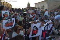"""Foto 6 - GALERÍA: Cientos de sorianos cortan durante una hora la N-122 para exigir """"¡Autovía ya!"""""""