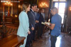 Un momento de la entrega de diplomas. /SN