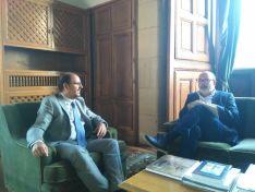El subdelegado del Gobierno ha visitado hoy las dependencias judiciales.