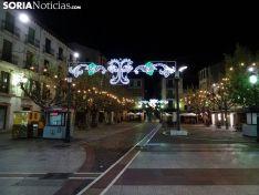 Iluminación navideña de Soria hasta este 2018