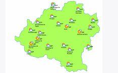 Mapa a las 15:00 horas. /eltiempo.es