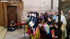 Ofrenda Floral a la Virgen del Espino.