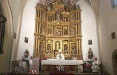 La eucaristía oficiada por el obispo de Osma-Soria. /Dip.