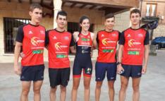 Imagen del equipo. /Deporama Joven In Triatlón Soriano