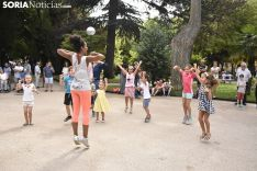 Danza Urbana Creativa en el Teatro de Calle. /EM