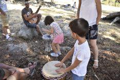 Jam Sesion de 'Músicos en la Naturaleza' de Duruelo de la Sierra. /EM