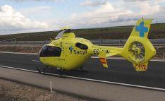 Helicóptero de Sacyl. Junta de Castilla y León.