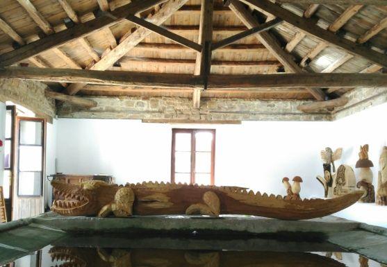 El Espacio Cultura Lavadero de San Andrés de Soria acoge una muestra de obras esculpidas por el artista José Llorente Alonso. Ayuntamiento de Almarza.