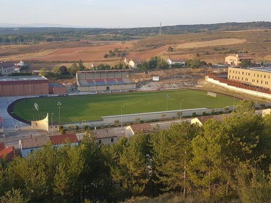 El Municipal de El Burgo de Osma. Cuenta de Facebook del Sporting Uxama (no oficial).