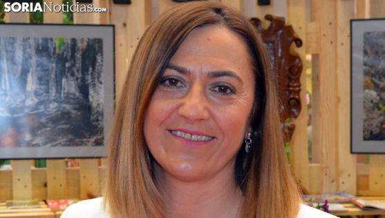 Virginia Barcones, delegada del Gobierno de Castilla y León.