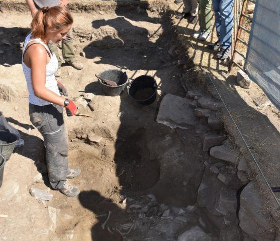 Excavaciones en el yacimiento este miércoles. /Jta.