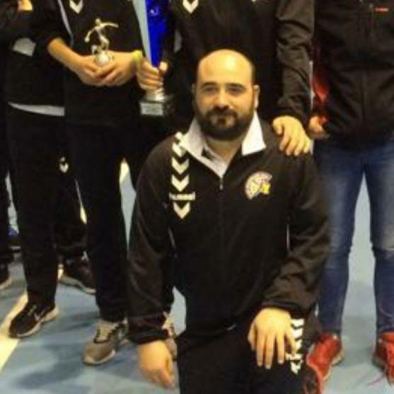 Eduardo Gallego, segundo entrenador del BM Soria.