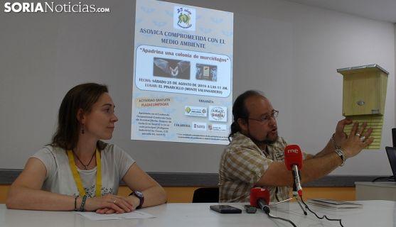 Nora Vergara y Manuel Meijide este martes. /SN