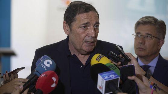 Antonio Saez Aguado, este lunes en rueda informativa. /SN