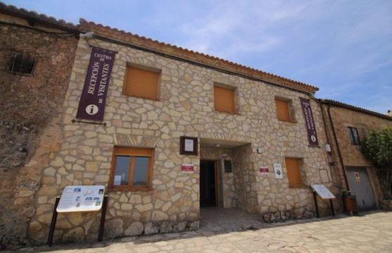 Oficina de turismo en Medinaceli.