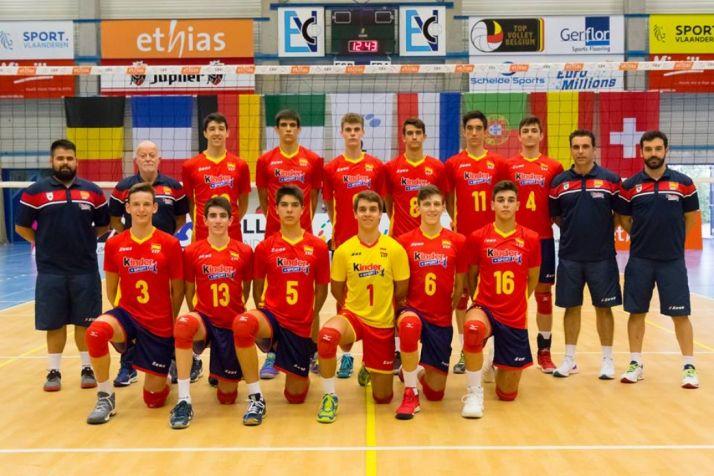 Selección Sub-18 de voleibol.