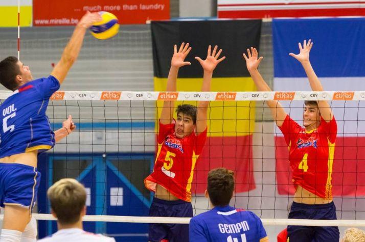 Adrián Olalla y Lucas Lorente, jugadores del Río Duero, son de bronce con España.
