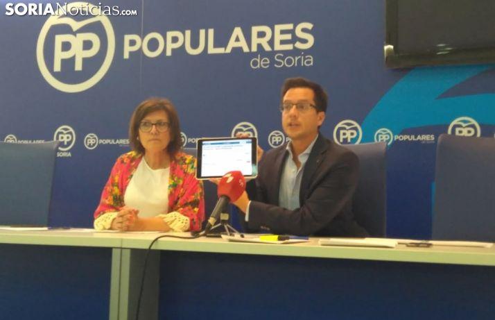 María del Mar Angulo y Tomás Cabezón