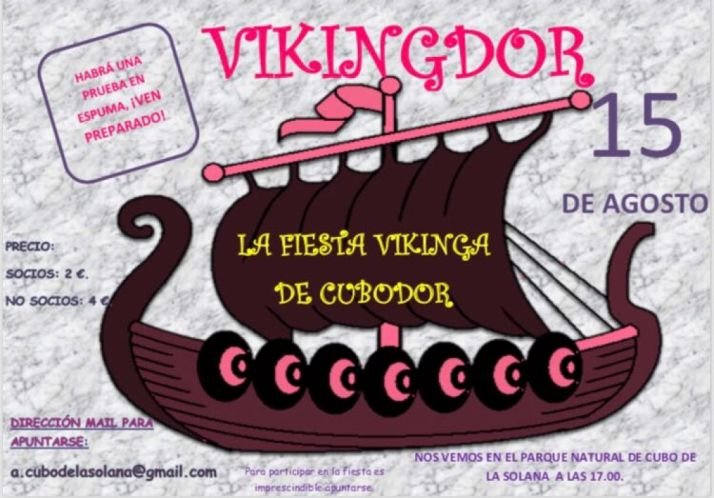 'Vikingdor' en Cubo de la Solana. La fiesta vikinga.