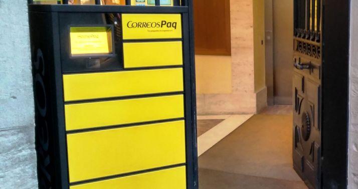 Foto 1 - Correos cuenta ya en la provincia de Soria con 9 buzones de paquetería 'CITYPAQ'