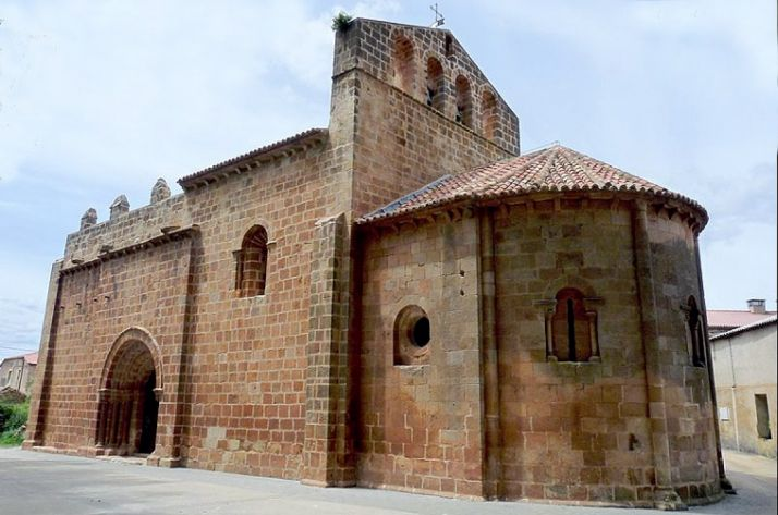 Templo parroquial de Nuestra Señora de los Ángeles, en Fuensaúco.