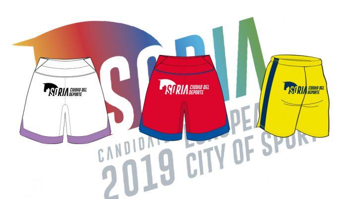 Foto 1 - El pantalón del CD Numancia apoyará al deporte soriano