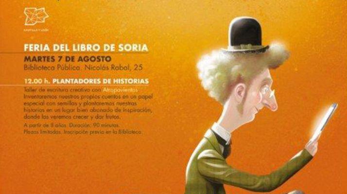 Foto 1 - El programa 'Ilumina Castilla y León' llega a la Feria del Libro de Soria