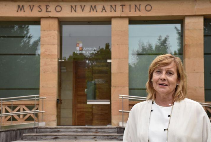 Marian Arlegui, nueva directora del Museo Numantino.