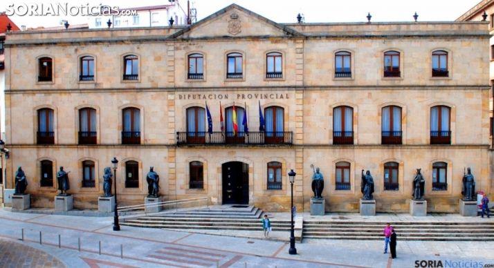 El Palacio Provincial, sede de la Diputación de Soria. /SN