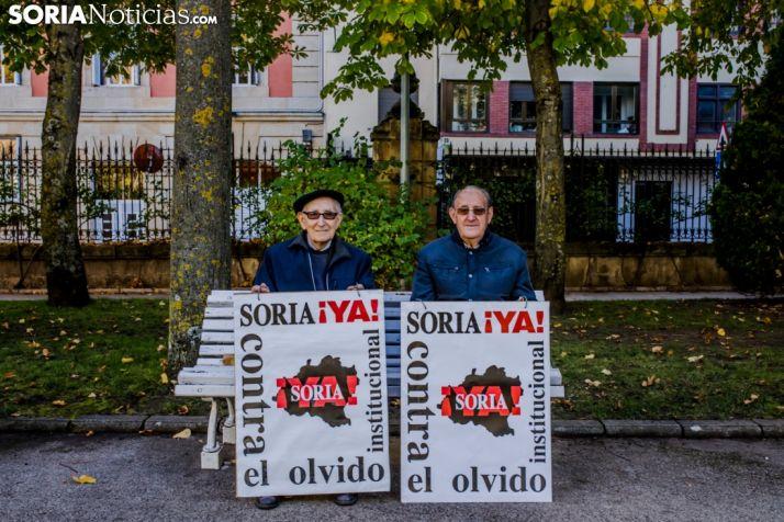 Miembros de la Plataforma Soria ¡YA! Soria Noticias