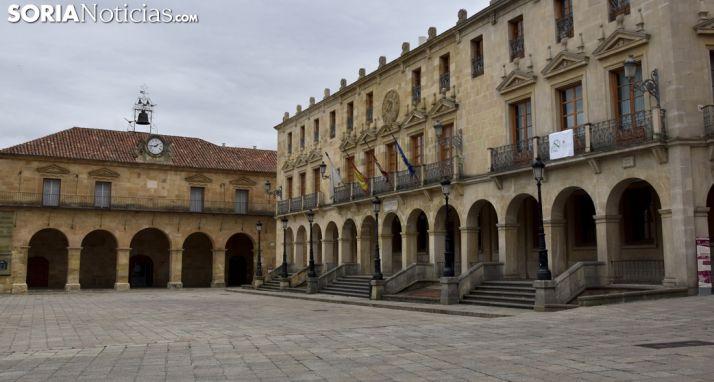 Imagen de la plaza Mayor de la capital. /SN