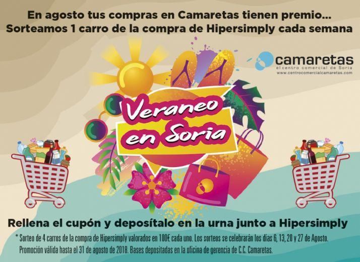 Foto 1 - Veraneo en Soria, en el Centro Comercial Camaretas