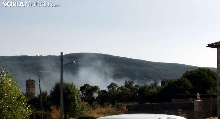 Por extinguir un incendio en Valdeavellano de Tera
