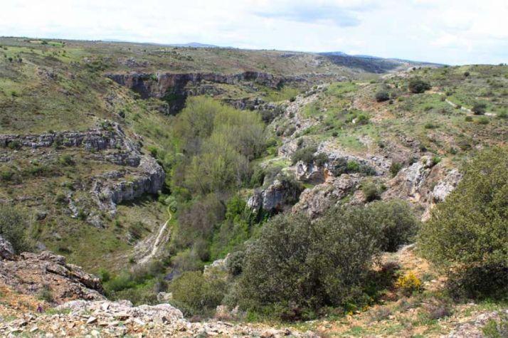 Cañón del río Talegones.