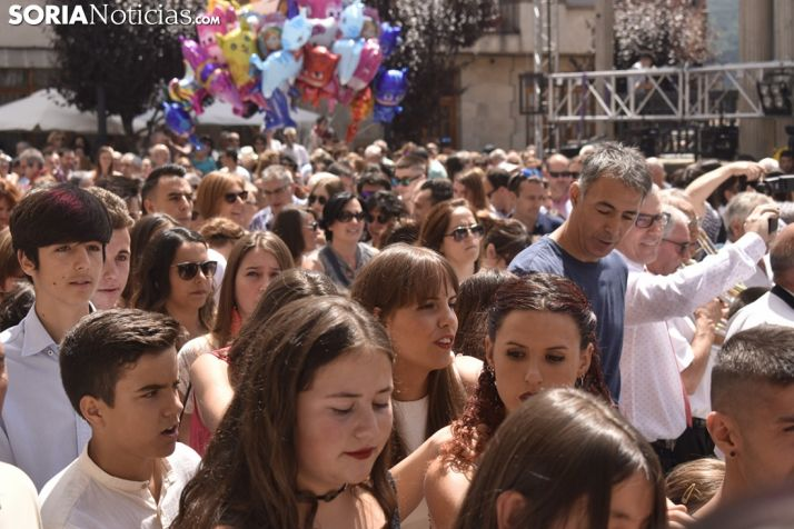 Imágenes del Pregón de San Lorenzo. /EM