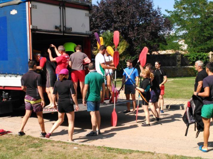 XXXIII Descenso Popular en Piragua. Organización