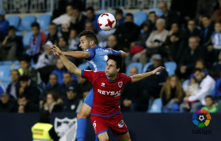 Markel, en Copa contra el Málaga. LaLiga