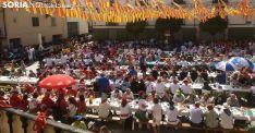 Imagen de la plaza de España este martes. /SN