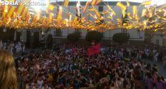 Una imagen del arranque de las fiestas olvegueñas. /SN