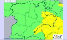 El aviso abarca a la provincia de Soria en su totalidad. /Aemet