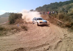 Foto 2 - Agustín Álvaro vence en Cervera y está a un paso de ser bicampeón de España de rally de históricos