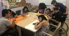 Un taller de Aspace Soria.