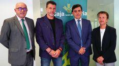 Domingo Barca, Carlos Martínez Izquierdo, Antonio Gómez y Carmen Ruiz. /CRS
