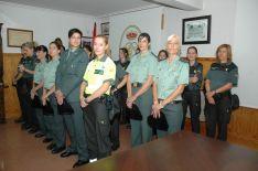 Una de las imágenes de la jornada de aniversario en la Comandancia de Soria. /Subdeleg.