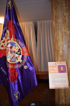 Foto 6 - Las fotos de las banderas  históricas de la exposición 'España en rojo y gualda'