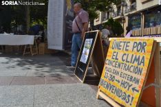 Una imagen de la plaza de San Esteban este sábado. /SN
