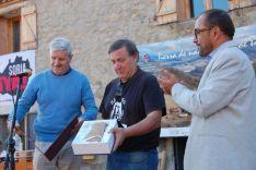 Entrega del Premio Colodra en agosto de 2018 por parte de la Diputación. /Diputación