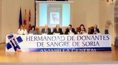 Foto 3 - Los donantes de sangre sorianos homenajean a Emiliano Revilla y a Caja Rural